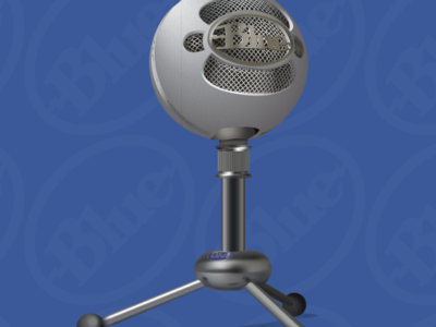 Blue Snowball Web Ad